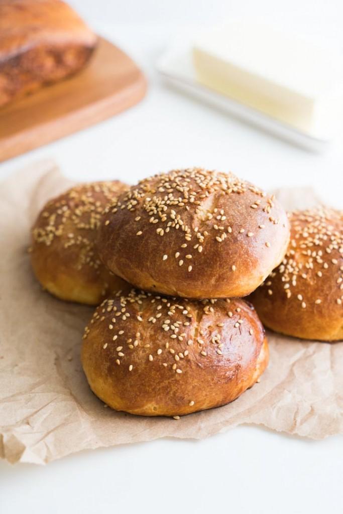 receita rápida de pão