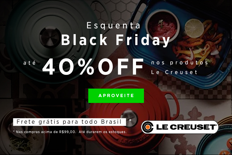 esquenta black friday le creuset