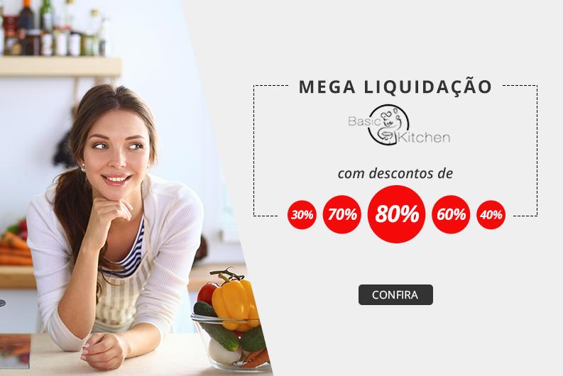 Mega liquidação Basic Kitchen