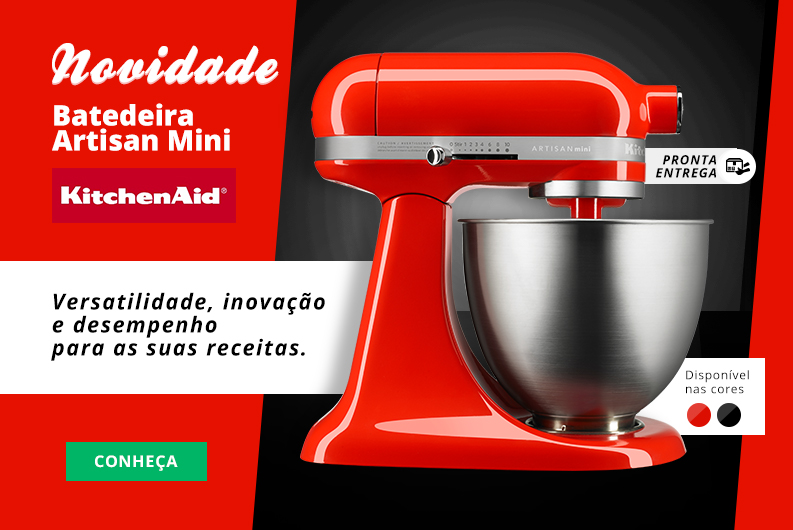 mini batedeira kitchenaid
