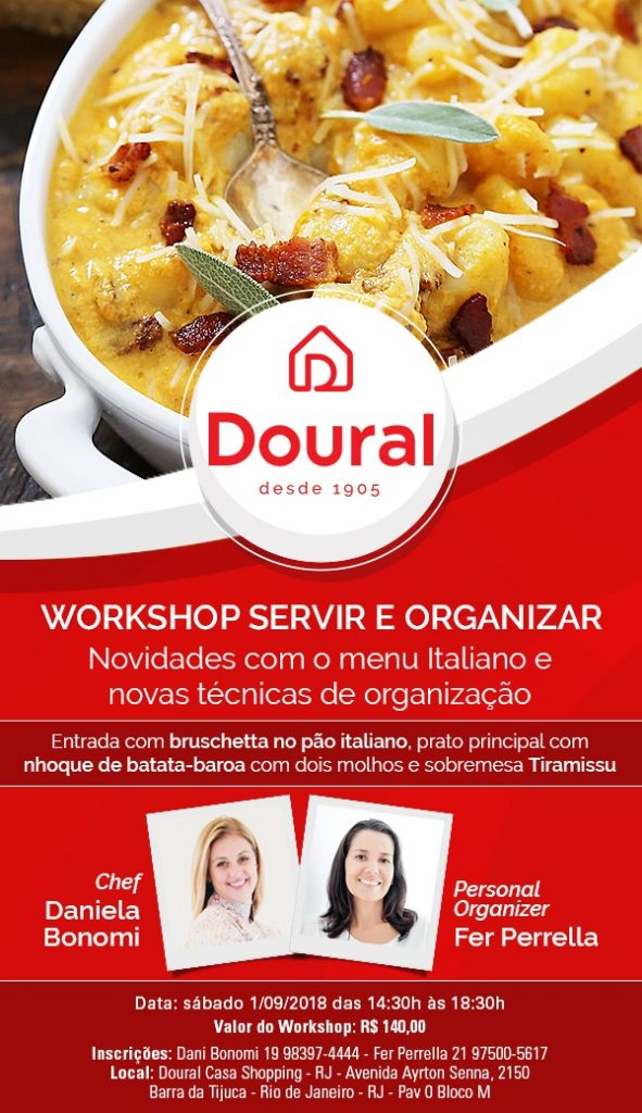Workshop Servir e Organizar